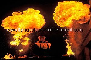Spectacular Fire Shows