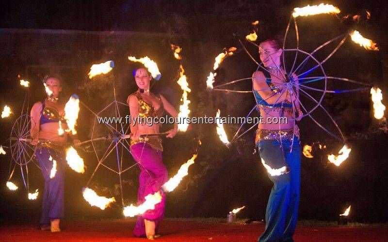 Belly Dance Fire Show