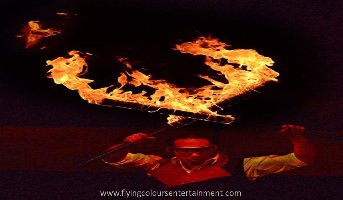 Fire Sword Performer