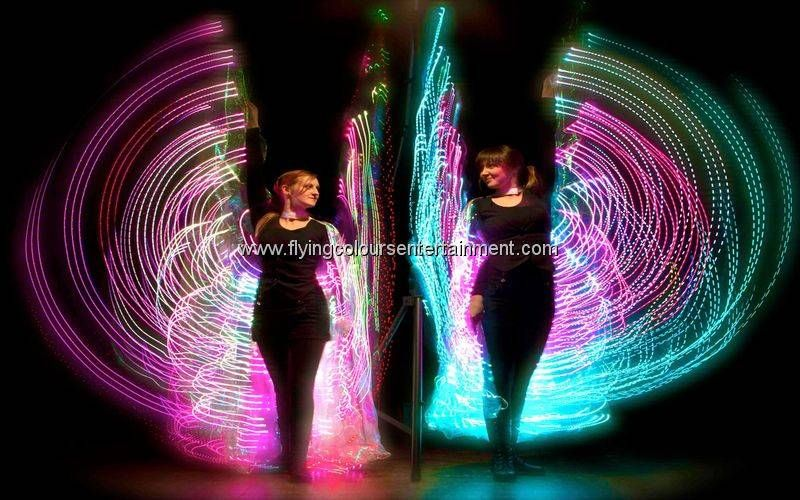 Glow LED Light Stilt Walkers