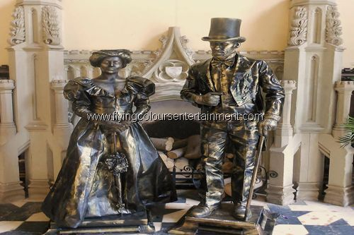 Wonderful Human Living Statues for Any Event
